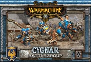 Warmachine Cygnar Plastic Battlegroup